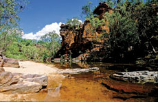 Umbrawarra Gorge - Courtesy of Tourism NT