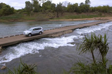 Daly River Crossing - Cortesy of Tourism NT