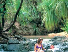 Tjuwaliyn Douglas Hot Springs - Courtesy of Tourism NT